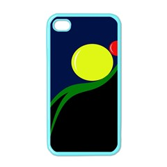 Falling  ball Apple iPhone 4 Case (Color)