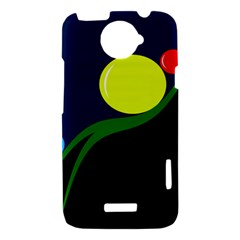 Falling  ball HTC One X Hardshell Case