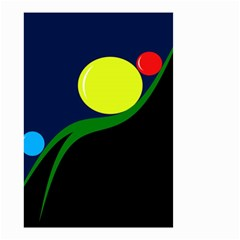 Falling  ball Small Garden Flag (Two Sides)