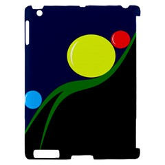 Falling  ball Apple iPad 2 Hardshell Case (Compatible with Smart Cover)