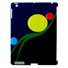 Falling  ball Apple iPad 3/4 Hardshell Case (Compatible with Smart Cover)