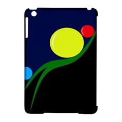Falling  ball Apple iPad Mini Hardshell Case (Compatible with Smart Cover)