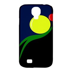 Falling  ball Samsung Galaxy S4 Classic Hardshell Case (PC+Silicone)