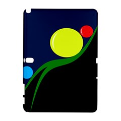 Falling  ball Samsung Galaxy Note 10.1 (P600) Hardshell Case