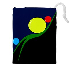 Falling  ball Drawstring Pouches (XXL)