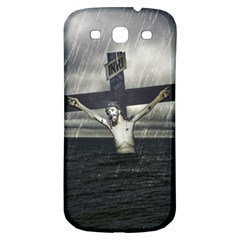 Jesus On The Cross At The Sea Samsung Galaxy S3 S III Classic Hardshell Back Case