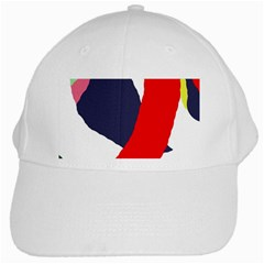 Beautiful abstraction White Cap