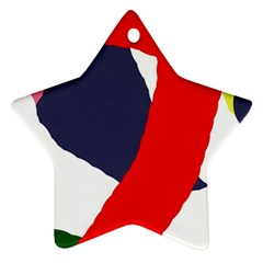 Beautiful abstraction Ornament (Star)