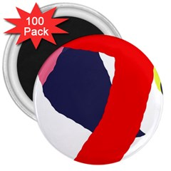 Beautiful abstraction 3  Magnets (100 pack)