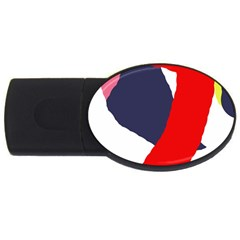 Beautiful abstraction USB Flash Drive Oval (2 GB)