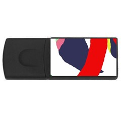 Beautiful abstraction USB Flash Drive Rectangular (1 GB)