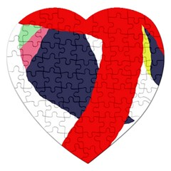 Beautiful abstraction Jigsaw Puzzle (Heart)