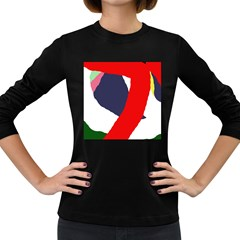 Beautiful abstraction Women s Long Sleeve Dark T-Shirts