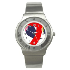 Beautiful abstraction Stainless Steel Watch