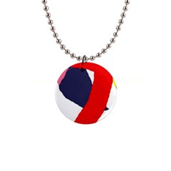 Beautiful abstraction Button Necklaces