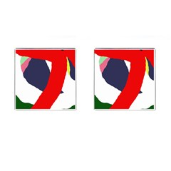 Beautiful abstraction Cufflinks (Square)