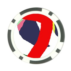 Beautiful abstraction Poker Chip Card Guards (10 pack)