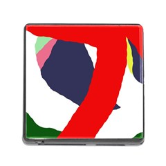 Beautiful abstraction Memory Card Reader (Square)