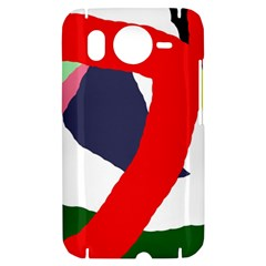 Beautiful abstraction HTC Desire HD Hardshell Case