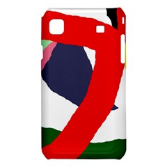 Beautiful abstraction Samsung Galaxy S i9008 Hardshell Case