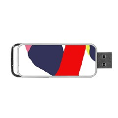 Beautiful abstraction Portable USB Flash (Two Sides)