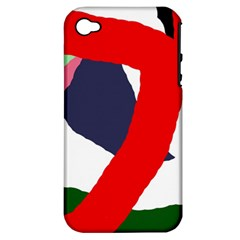 Beautiful abstraction Apple iPhone 4/4S Hardshell Case (PC+Silicone)