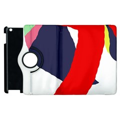 Beautiful abstraction Apple iPad 3/4 Flip 360 Case
