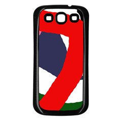 Beautiful abstraction Samsung Galaxy S3 Back Case (Black)