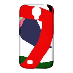Beautiful abstraction Samsung Galaxy S4 Classic Hardshell Case (PC+Silicone)