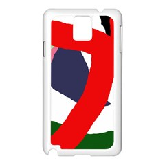 Beautiful abstraction Samsung Galaxy Note 3 N9005 Case (White)