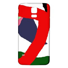 Beautiful abstraction Samsung Galaxy S5 Back Case (White)