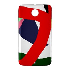 Beautiful abstraction Nexus 6 Case (White)