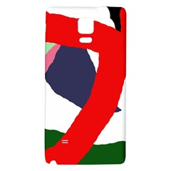 Beautiful abstraction Galaxy Note 4 Back Case