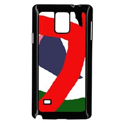 Beautiful abstraction Samsung Galaxy Note 4 Case (Black)