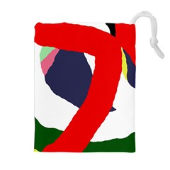 Beautiful abstraction Drawstring Pouches (Extra Large)