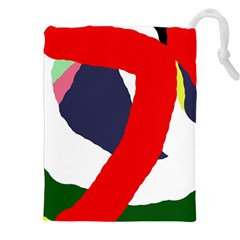 Beautiful abstraction Drawstring Pouches (XXL)
