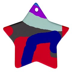 Crazy abstraction Ornament (Star)