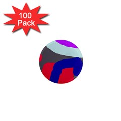 Crazy abstraction 1  Mini Magnets (100 pack)