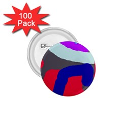 Crazy abstraction 1.75  Buttons (100 pack)