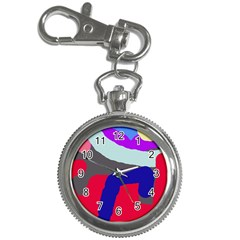 Crazy abstraction Key Chain Watches