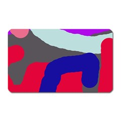 Crazy abstraction Magnet (Rectangular)