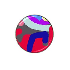 Crazy abstraction Hat Clip Ball Marker (10 pack)
