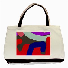 Crazy abstraction Basic Tote Bag (Two Sides)