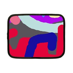 Crazy abstraction Netbook Case (Small)