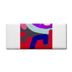Crazy abstraction Hand Towel