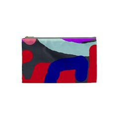 Crazy abstraction Cosmetic Bag (Small)