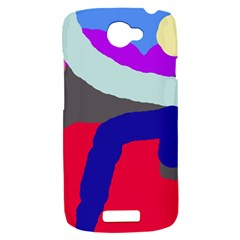 Crazy abstraction HTC One S Hardshell Case