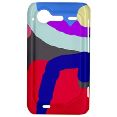 Crazy abstraction HTC Incredible S Hardshell Case