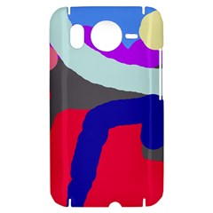 Crazy abstraction HTC Desire HD Hardshell Case