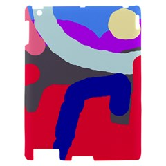 Crazy abstraction Apple iPad 2 Hardshell Case